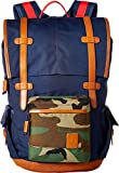 Nixon Unisex Canyon Backpack Navy/Woodland Camo Backpack