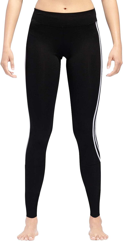 GoVIA Legging pour femme Pantalon de course /à pied Pantalon de sport respirant Pantalon de Yoga Fitness Taille haute Long Rayures 4138