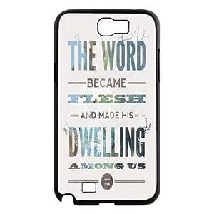 Custom Bible Verse Design Samsung Galaxy S6 Plastic Case Cover
