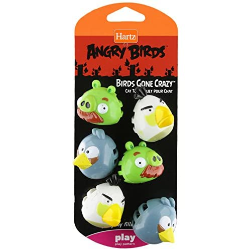 f54cb4ad9f Hartz Angry Birds Birds Gone Crazy - Cat Toy, - Officially Licensed by  Rovio 60