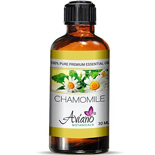 Moroccan Chamomile Oil Essential - Roman Chamomile Essential Oil Ultra-Premium 100% Pure Therapeutic Grade - 30ml By Avíanō Botanicals