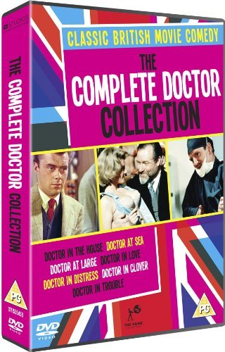 The Complete Doctor Collection   7 Dvd Box Set   Doctor In The House   Doctor At Sea   Doctor At Large   Doctor In Love   Doctor In Distress   Do   Non Usa Format  Pal  Reg 2 Import   United Kingdom
