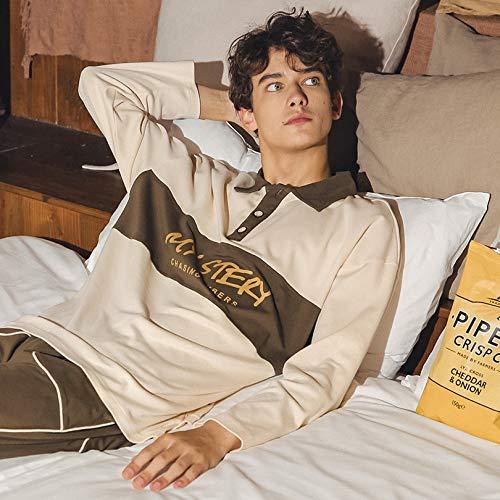Camicie Notte Pigiameria Gzz Primavera Pezzi Camicia Collo Uomo Donna Giovent Due Autunno A Cotone Pigiami Da Pigiama qxIwnwUCYt