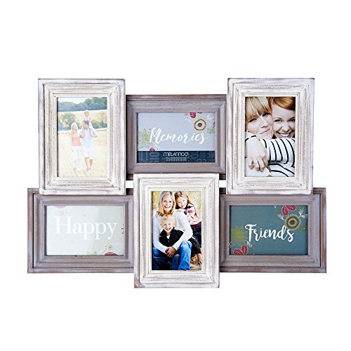 all Mount Frame Picture Collage, Grey/Cream ()
