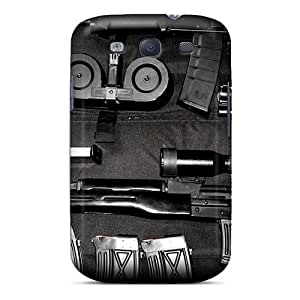 Sunrises Ogd896bscn Case Cover Skin For Galaxy S3 (ak47 And Dragunov Weapons)
