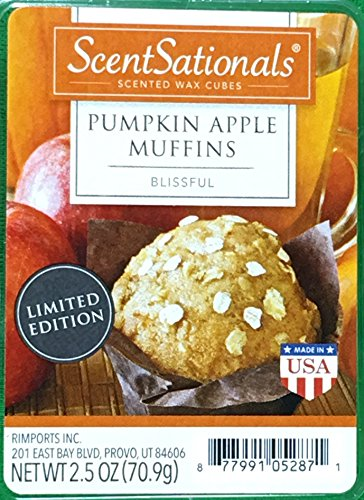 ScentSationals Pumpkin Apple Muffins Scented product image