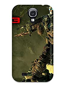High Quality Shock Absorbing Case For Galaxy S4-gears Of War 3 Dom