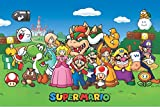 Pyramid America Super Mario Characters Video Gaming Poster 36x24 inch