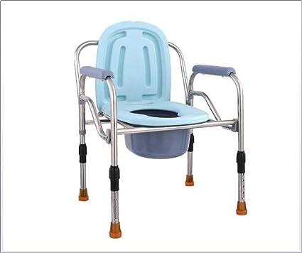 Lmx Sedia Con Water Per Disabili Sedia A Rotelle Wc Portatile