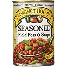 Margaret Holmes Seasoned Field Peas and Snaps, 15 Ounce (Pack of 6)