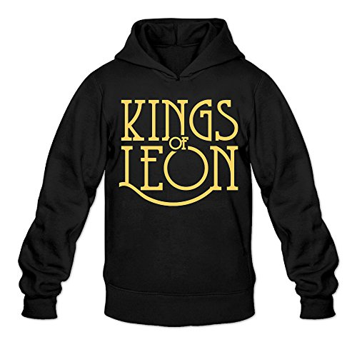 [RABBEAT Men's Sweater Kings Of Leon Size XXL Black] (Dragon Tales Costume)