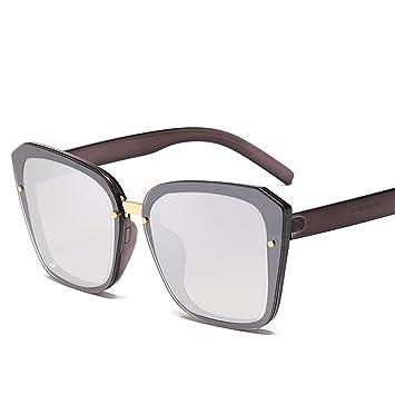 DURIAN MANGO Gafas de Sol cuadradas de Gran tamaño Moda para ...