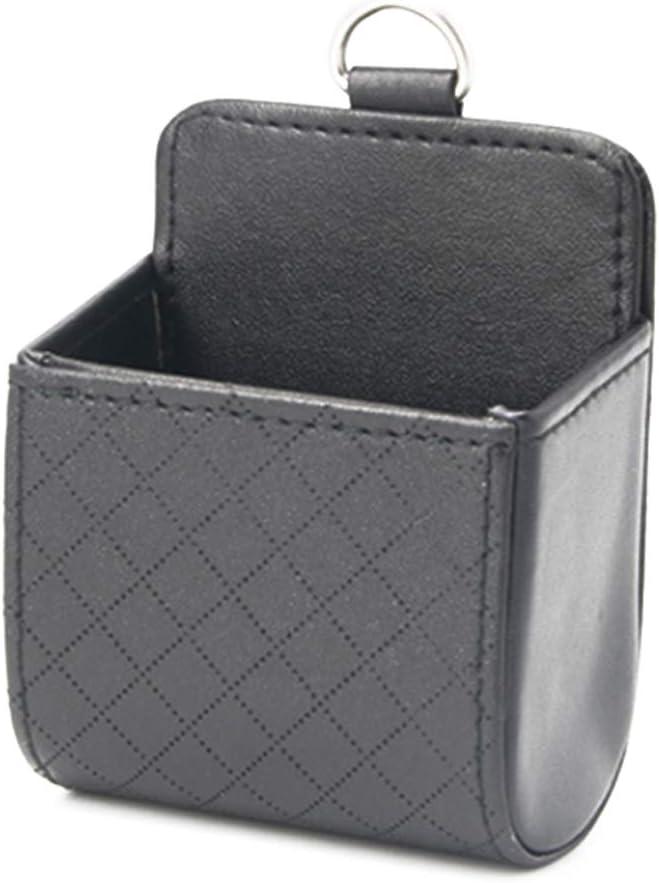 Meisijia Voiture Automatique de Stockage Case PU Si/ège arri/ère Int/érieur Air Vent Tidy Organisateur Mobile Holder Pounch Box
