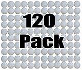 SquareTiger Practice Golf Balls - Plastic, Hollow, White