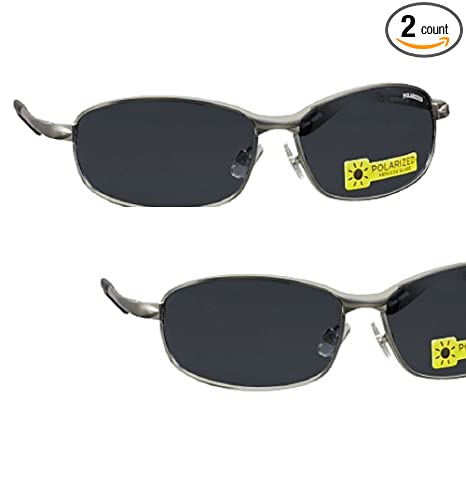 942ce10ff2 Image Unavailable. Image not available for. Color  2 Pair Foster Grant  Polarized Metal Frame Sunglasses ...