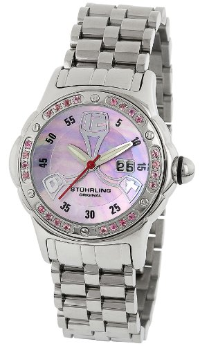 Stuhrling Original Women's 5ABS.12119 Lifestyle 'Alpine La Femme' Bubble Watch