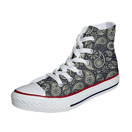 All Star Converse Producto Paisley Artesano personalizados zapatos Indian qa5x85d