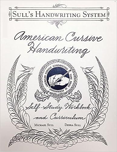 American Cursive Handwriting: Michael R. Sull: 9780982868218 ...