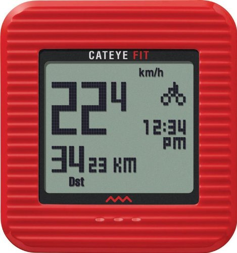 Cateye Fit Wireless Bicycle Computer/Walk Pedometer CC-PD...