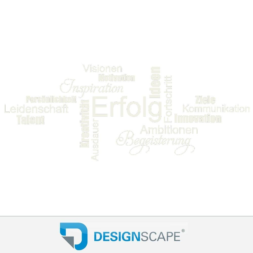DESIGNSCAPE® DESIGNSCAPE® DESIGNSCAPE® Wandtattoo Wortwolke Erfolg Motivation Begeisterung Leidenschaft Kommunikation 180 x 72 cm (Breite x Höhe) lindgrün DW803353-L-F16 B01H3W42II Wandtattoos & Wandbilder 5ce18e