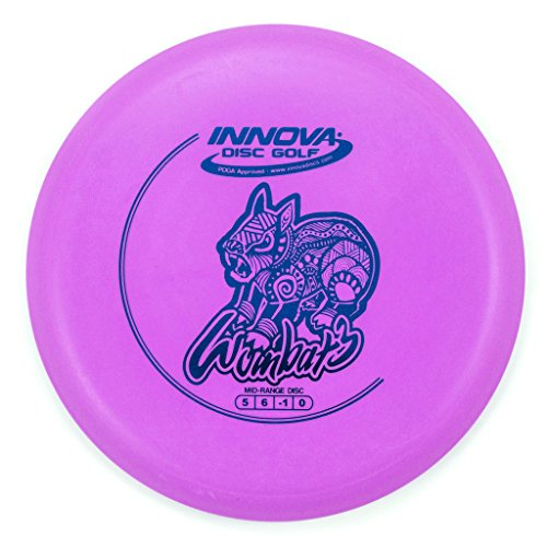INNOVA DX Wombat3 Mid-Range Golf Disc [Colors May Vary] - 165-169g (Size Range Mid)