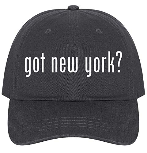 New York Hat Holiday Knicks - got New York? - A Nice Comfortable Adjustable Dad Hat Cap, Dark Grey