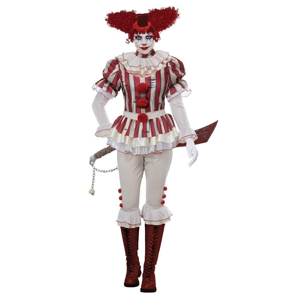 Sadistic Clown Adult Damens's Costume X-Small
