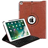 Fintie iPad 9.7 inch 2018 2017 iPad Air 2 iPad Air Keyboard Case - 360 Degree Rotating Stand Cover w Built-in Wireless Bluetooth Keyboard for Apple iPad 9.7
