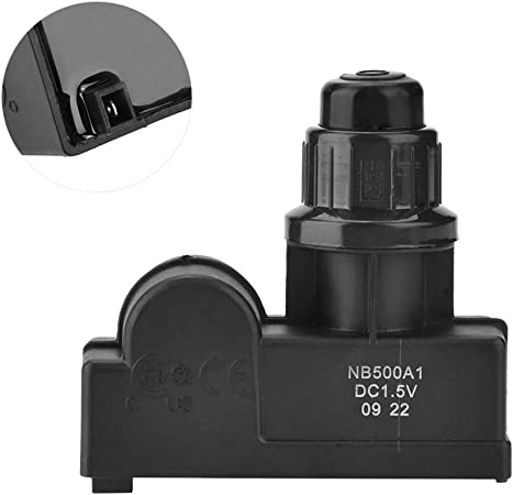 Plastic BBQ Gas Grill 4 Outlet Spark Generator Push Button Igniter AA Battery