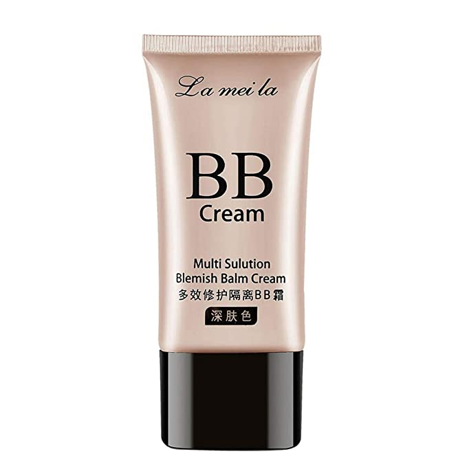 masrin Makeup Blemish BB Cream Feuchtigkeitsspendende Liquid Foundation Concealer Isoliert 3 Color Concealer BB Cream 50g