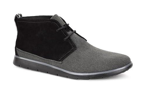 aa25bec6f79 UGG Australia Mens Freamon Canvas Boot Black Size 12: Amazon.ca ...