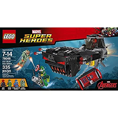 LEGO Super Heroes Iron Skull Sub Attack 76048: Toys & Games