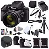 : Nikon COOLPIX P900 16MP Digital Camera Bundle with Case and Accessories (16 Items)
