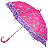 Stephen Joseph Girls' All Over Print Umbrella, Horse