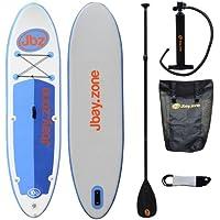 Jbay SUP T10 , Stand Up Paddle, 304x76x13cm, Bianco/Blu