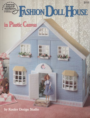 Fashion Doll House in Plastic Canvas (Canvas Plastic Doll)