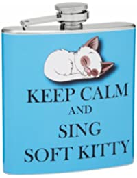Take 6oz Keep Calm and Sing Hip Flask, Free Personalization reviews