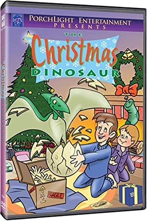 Christmas Dinosaur.Amazon Com The Christmas Dinosaur Cartoon Bruce Johnson