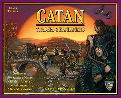 May Fair Catan: Traders and Barbarians Expansion, Multi Color