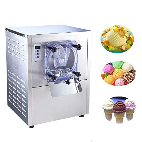 Commercial Stainless Steel Hard Ice Cream Machine 20L/h Ice Cream Maker with Brand New LCD Display System Best Quality Compressor