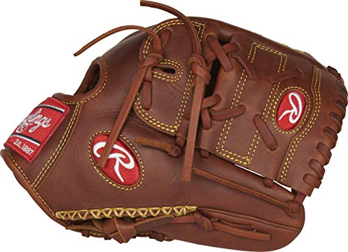 Rawlings Heart of The Hide Baseball Glove, 11.75 inch, 2-Piece Solid Web, Right Hand Throw