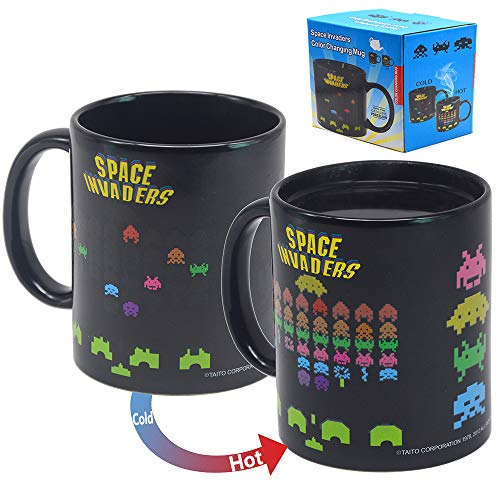 Space Invaders Heat Changing Mug