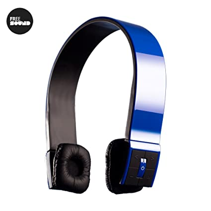 Auriculares con diadema deportiva bluetooth - FREERUNNER AZUL