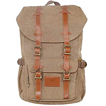 Image of American Shield Granite leisure travel Backpack Casual Daypack (Coffee) Casual Daypacks