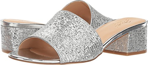 Badgley Mischka Jewel Women's Tella Silver 7.5 M US