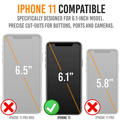 iPhone XR Battery Case, Powerful Slim Portable Protective Extended Charger Cover with Qi Wireless Charging Compatible with iPhone XR (6.1 inch) BXXr - (Black)