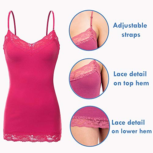Buy lace trim camisole top