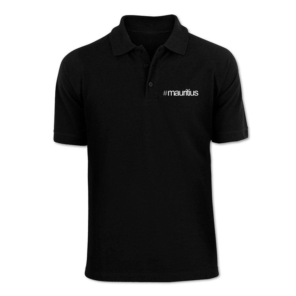Idakoos Hashtag Mauritius - Countries - Polo Shirt IDKSE5A557000004333980