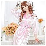 Women Open Front Tempt Sexy Lingerie Robe Pyjamas Nightgown NightDress Sleepwear