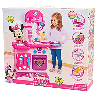 Minnie Mouse Bow-Tique Flipping Fun Play Kitchen : Baby Toys : Baby